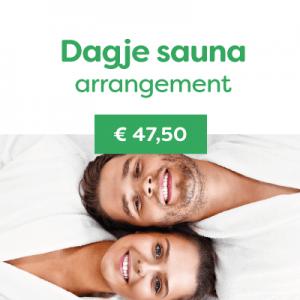 Dagje sauna arrangement € 47,50